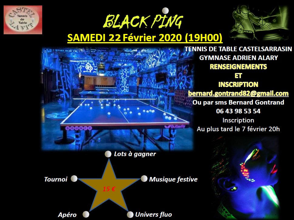BLACK PING 22Fév